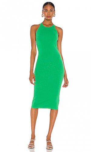 Платье marc A.L.C.. Цвет: зеленый
