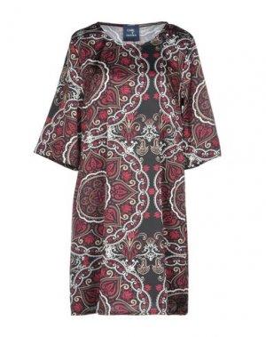 Короткое платье TANTRA. Цвет: пурпурный