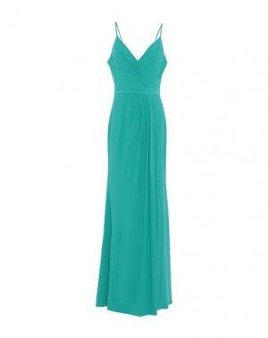 Длинное платье MIKAEL. Цвет: изумрудно-зеленый