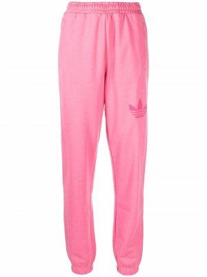 Logo-print track pants adidas. Цвет: розовый