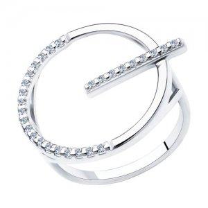Кольцо из серебра SOKOLOV
