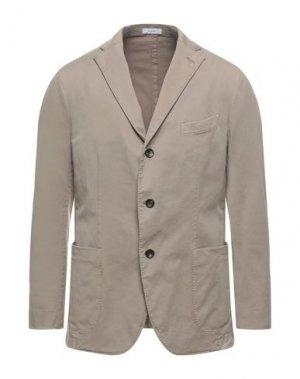 Пиджак BOGLIOLI. Цвет: голубиный серый