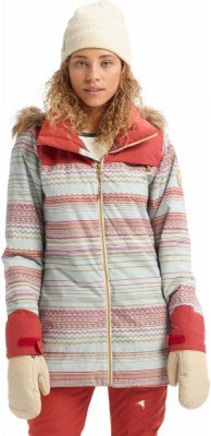 Куртка утепленная женская Lelah, размер 42-44 Burton. Цвет: оранжевый