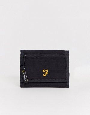 Черный бумажник Farah