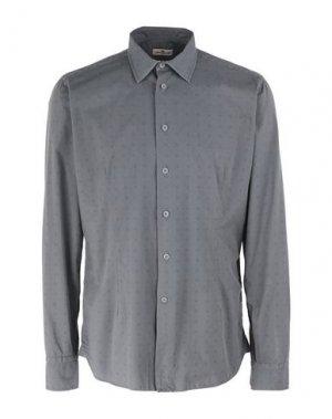 Pубашка BRANCACCIO C.. Цвет: свинцово-серый