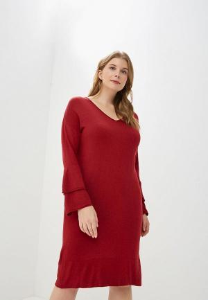 Платье Violeta by Mango - SOHO. Цвет: красный