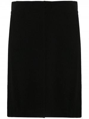 Юбка Delia прямого кроя Filippa K. Цвет: черный