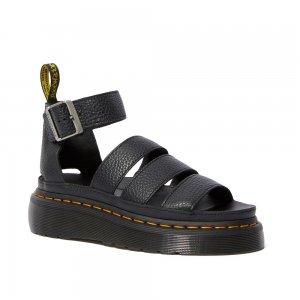 Clarissa Ii Quad Leather Platform Aunt Sally Dr. Martens. Цвет: чёрный
