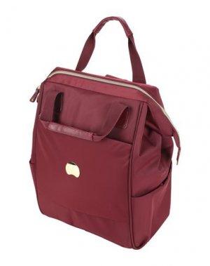 Рюкзаки и сумки на пояс DELSEY. Цвет: пурпурный