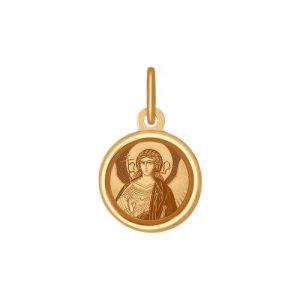 Иконка из золота «Архангел Хранитель» SOKOLOV