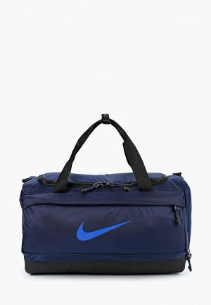 Сумка спортивная Nike Vapor Sprint Kids Duffel Bag. Цвет: синий