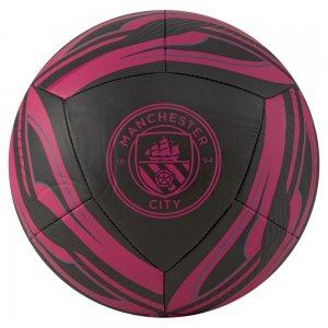 Футбольный мяч MCFC ICON Ball PUMA. Цвет: черный