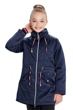 Утепленная куртка Junior Republic. Цвет: синий