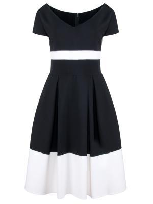 Шерстяное платье CAROLINA HERRERA