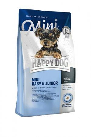 Сухой корм для собак 4 кг HAPPY DOG. Цвет: белый