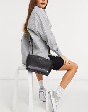 Черная сумка через плечо Hampton-Черный Fiorelli
