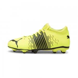 Детские бутсы FUTURE Z 4.1 FG/AG Youth Football Boots PUMA. Цвет: желтый