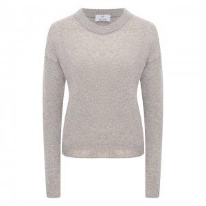 Пуловер из шерсти и кашемира Allude. Цвет: бежевый