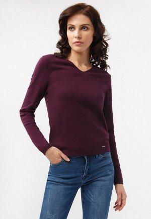 Пуловер Finn Flare. Цвет: фиолетовый