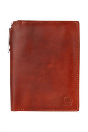 Бумажник Cross. Цвет: коричневый