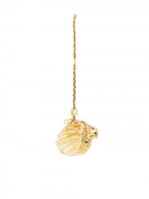 Брелок с подвеской Yves Saint Laurent Pre-Owned. Цвет: золотистый