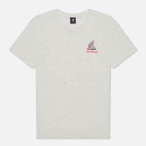 Мужская футболка Athletics Minimize New Balance. Цвет: серый