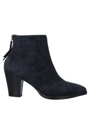 Полусапоги и высокие ботинки ALBERTO FERMANI. Цвет: темно-синий