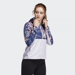 Ветровка для бега Own Run Performance adidas. Цвет: розовый