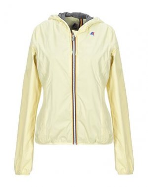 Куртка K-WAY. Цвет: светло-желтый