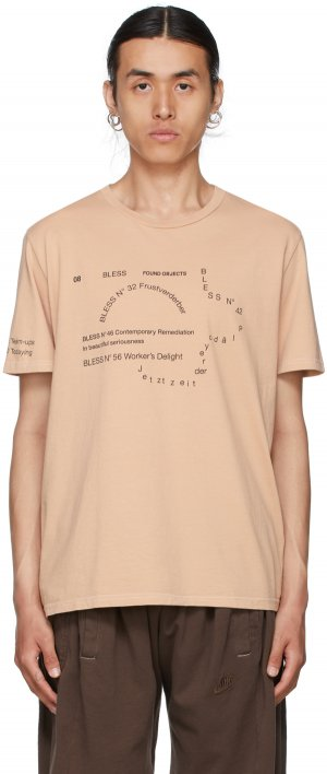 Beige Nº69 Lost In Contemplation Multicollection II T-Shirt Bless. Цвет: skintone 3