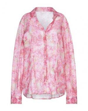 Pубашка AND. Цвет: розовый