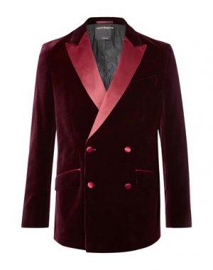 Пиджак FAVOURBROOK. Цвет: красно-коричневый