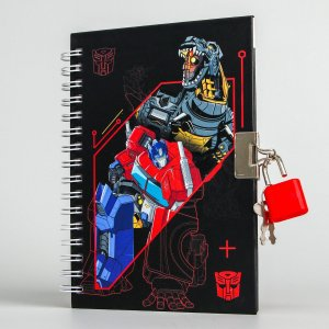 Записная книжка а6 на замочке Hasbro