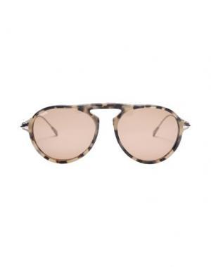 Солнечные очки TOD'S. Цвет: серый