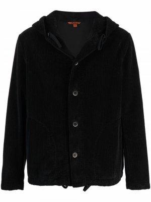 Вельветовая куртка с капюшоном Barena. Цвет: черный
