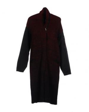 Пальто ILARIA NISTRI. Цвет: красно-коричневый