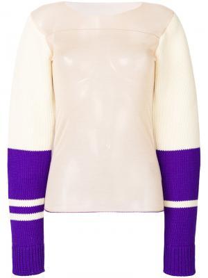 Пуловер дизайна колор-блок Calvin Klein 205W39nyc