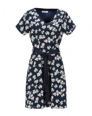 Короткое платье DRY LAKE.. Цвет: темно-синий