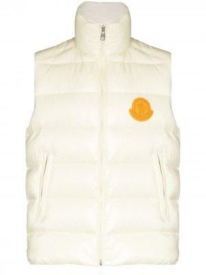 Дутый жилет 1952 Park Moncler. Цвет: нейтральные цвета