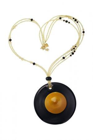 Ожерелье ZECCHIN VENICE. Цвет: янтарный