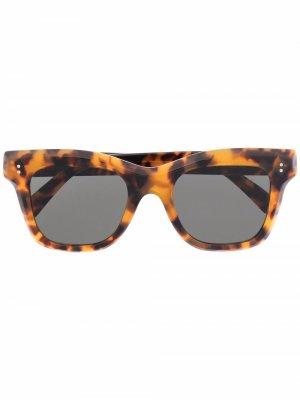 Солнцезащитные очки Vita Retrosuperfuture. Цвет: коричневый