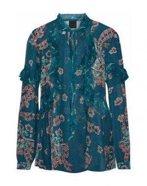 Блузка ANNA SUI. Цвет: грифельно-синий