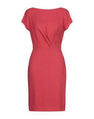 Короткое платье ANGEL SCHLESSER. Цвет: красный
