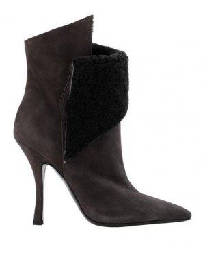 Полусапоги и высокие ботинки TIFFI. Цвет: темно-коричневый