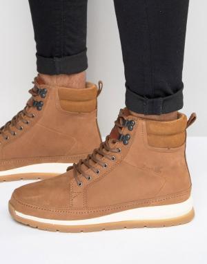 Кожаные ботинки Loadha Boxfresh. Цвет: коричневый