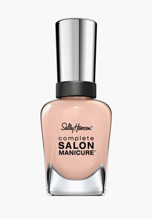 Лак для ногтей Sally Hansen Salon Manicure Keratin, тон 142. Цвет: розовый