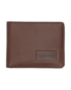 Бумажник EASTPAK. Цвет: темно-коричневый
