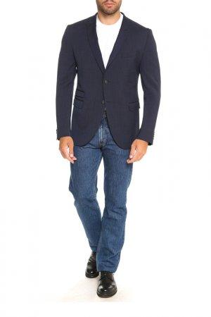 Пиджак Cinque. Цвет: темно-синий, черный, мелкий ро