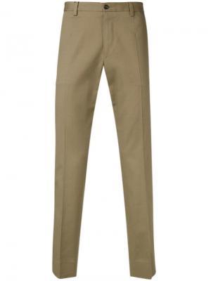 Классические брюки прямого кроя Dolce & Gabbana