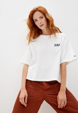 Футболка Gap. Цвет: белый